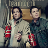 anaithis: winchesters - teamwork