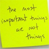 are not things