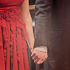Ron/Hermione hands