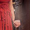 Ron/Hermione hands