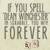 Robyn Goodfellow: dean scrabble