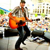Luke Bryan on stage