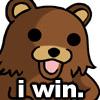 Pedobear | Narcis | I WIN
