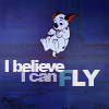 wd: i believe i can fly