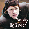 Loony Loopy Lea Lovegood: HP - Weasley is my king