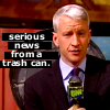 Anderson Cooper - SERIOUS NEWS