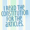 Text| constituion for articles