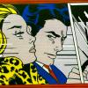 In The Car - Lichtenstein