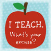 teach your excuse bitsyicons