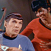 lamardeuse: Spock/Uhura