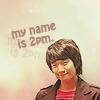 PAULINA。: 2pm → that's my name bitchez!