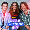 Schnute23: Me&J2 hug a german girl