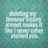 wordy {cyber-stalk}