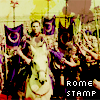 HBO's Rome Stamping