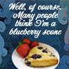 Nick is a blueberry scone