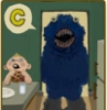 Cookie monster, C