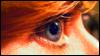 red hair + blue eye