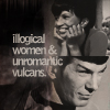 We come in peace,Shoot to kill!: illogical women(ST:TOS)