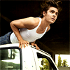 Bee: Zac - GQ - Lying on Car 1