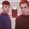 Star Trek; reboot Kirk&Spock--elessar83