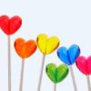 kawaiitreaures: Lollipop Hearts