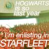 starfleet > hogwarts