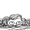 Beaton: wide-eyed saucy mermaid