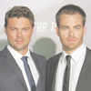 Lesley: Karl Urban & Chris Pine