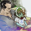 fantastic four: namor with daughter [au]
