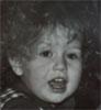 с кудрявой головой, когда была я маленькой
