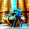doctor who: in tardis