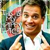 NCIS Tony happy face