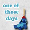 "Disney:  Stitch ""One Of Those Days"""