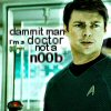 Trek: doctor not n00b (theanswer42)