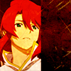 Tales of the Abyss - Luke gaze forward