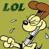 pinkfairy727: Garfield - Odie LoL