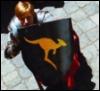 m; Arthur + Australian shield