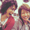 Paula a.k.a.Tanky: [Arashi] Jun & Aiba laughing