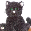 webkinz, black cat