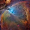 stars Orion nebula