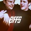 Helen: Kirk/Bones BFFS