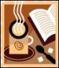 book, reading, tea