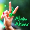 Allahu Akbar, Freedom, Hope, Solidarity