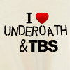 I heart underoath and tbs