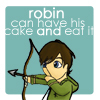 Kegel: Robin can have his cake