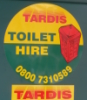 TARDIS Toilet HIRE!