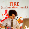 Circe: IT Crowd: FIRE exclamation mark. FIRE.