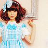 blue tartan lolita