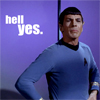 Danie: Hell yes - Spock