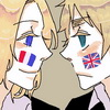 What real life? I don't know any real life!: Hetalia - France/UK